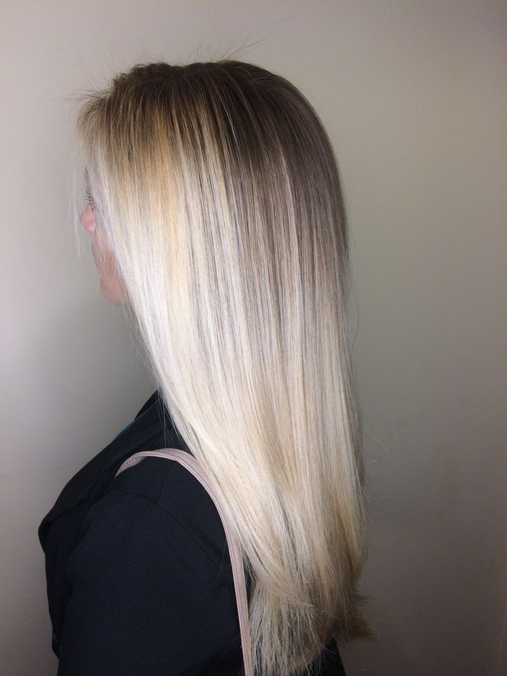 Icy Blonde / Platinum Blonde / Ombre / Balayage / Long ...
