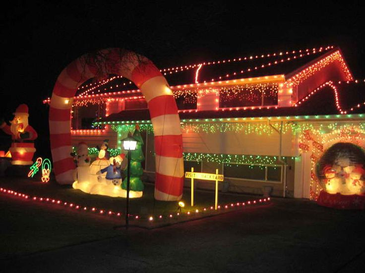 49 best Christmas Lighting Idea images on Pinterest  Wall hooks