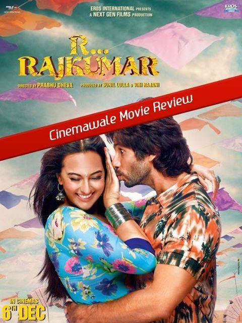 "--•★ ► MOVIE REVIEW ◄ ★•--  ""R... Rajkumar"" Starcast: Shahid Kapoor,Poonam Jhawer, Sonakshi Sinhahttp://www.cinemawale.com/r-rajkumar-review"