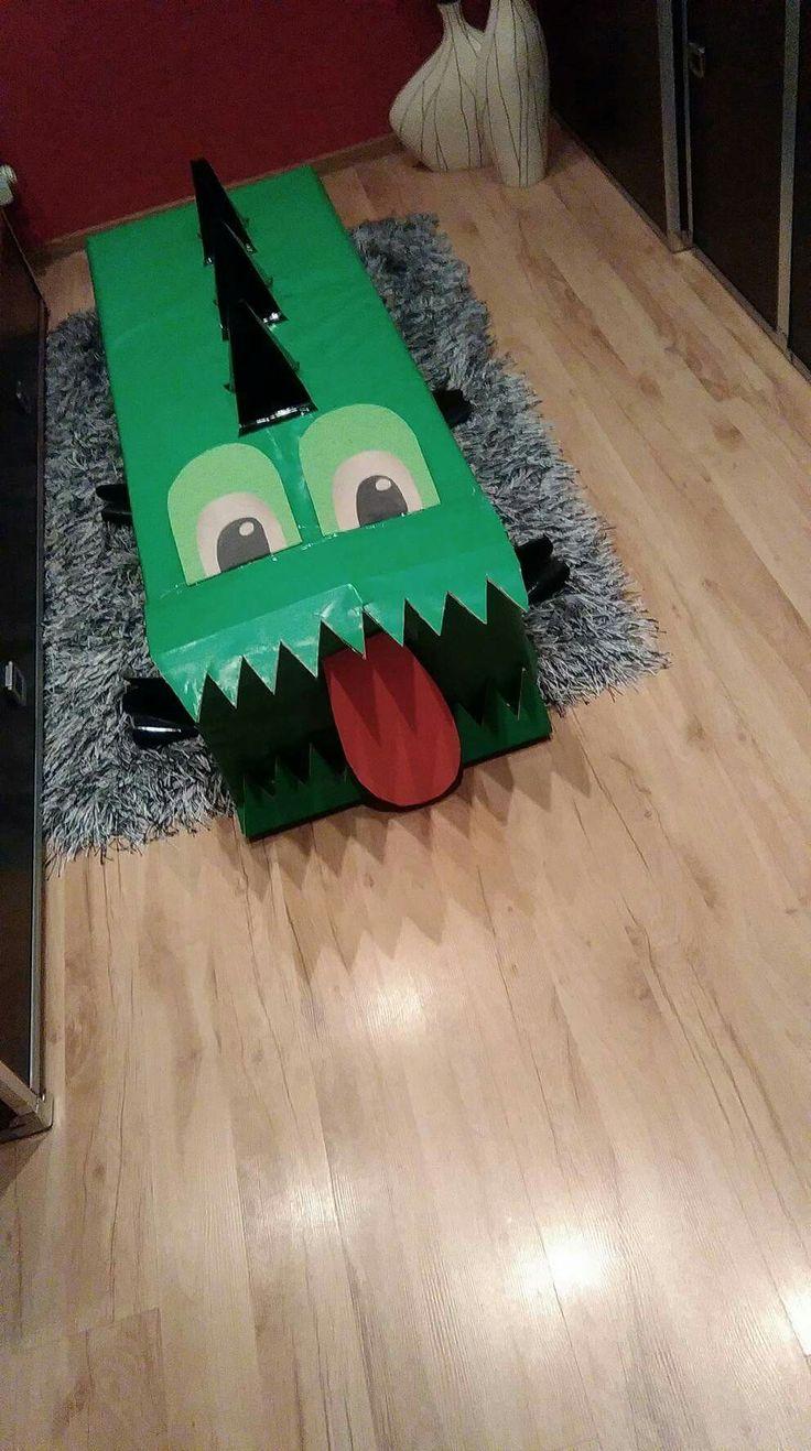 Prezent dla dziecka. Krokodyl