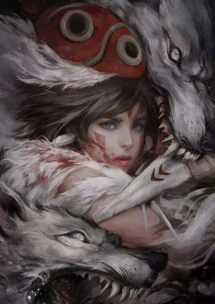 "Princess Mononoke ""Spirit/Monster Princess"" // MujuMoster"