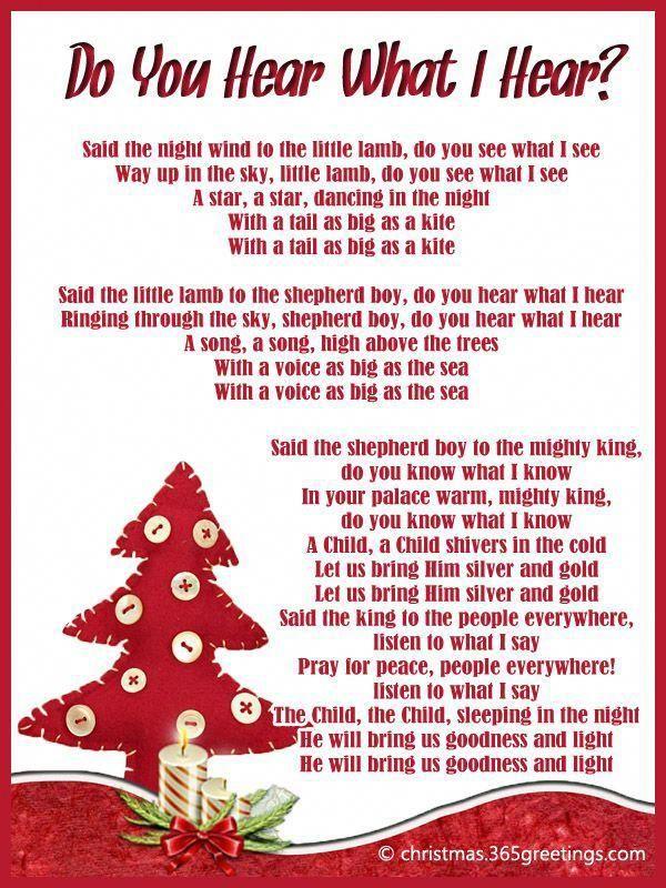 Pin On Christmas Carols Lyrics