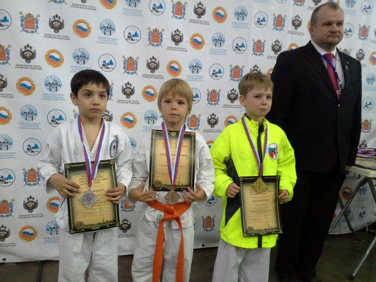 "Karate WKU Olympic Games of martial arts ""East-West"" St. Petersburg, Russia"