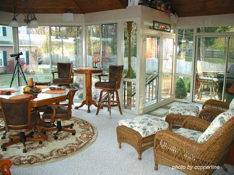Sunroom Flooring Sunroom Ideas Sunroom Designs Three Season Sunrooms Pinterest