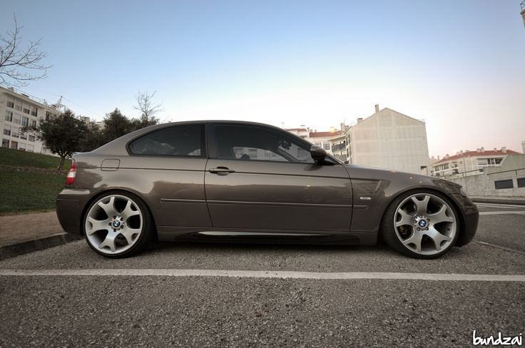BMW E46 Compact | BMW E46 Compact on BMW X5 wheels, 19x9 &19… | Pedro Alves | Flickr