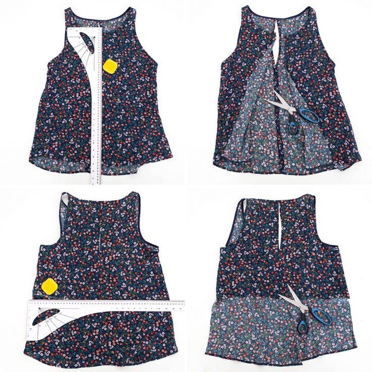 Follow this no-sew DIY tutorial to learn how to make a crop top in less than 15 minutes.