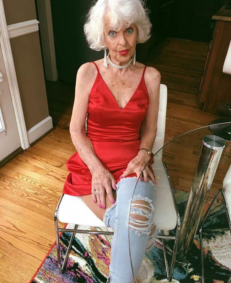 408 Best Senior Whitegray Hair Ladies Images On Pinterest -6032