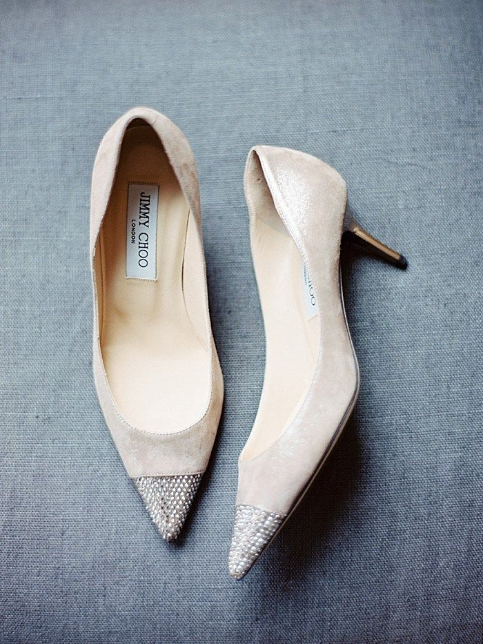 Jimmy Choo wedding shoes | Vail Wedding | Brumley and Wells photography