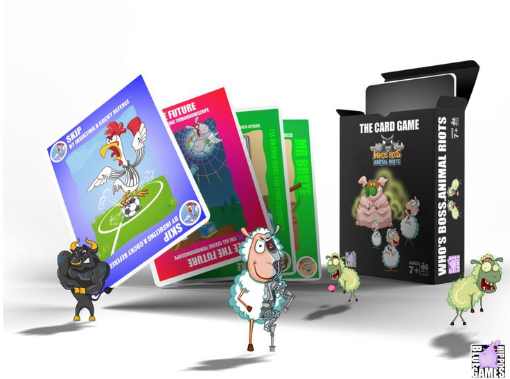 Who's Boss. Animal Riots: The CARD GAME | Image | BoardGameGeek