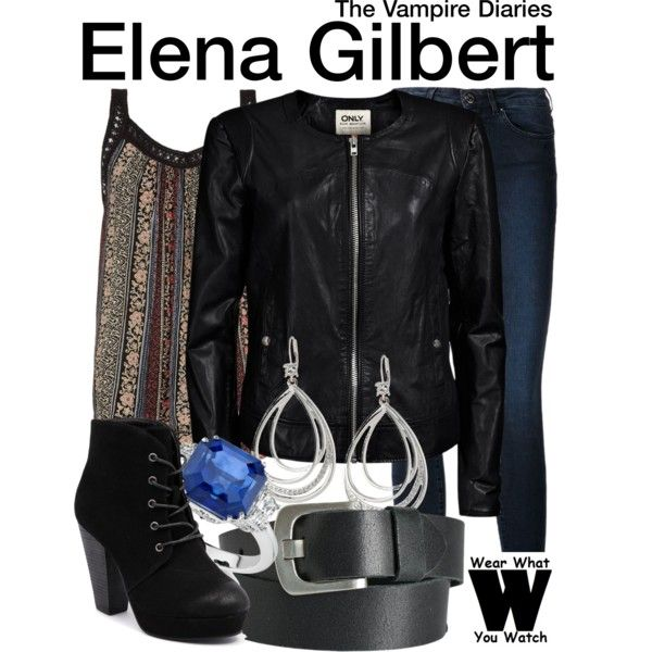 Inspired by Nina Dobrev as Elena Gilbert on The Vampire Diaries.