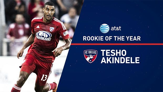 Former Mines student Tesho Akindele named 2014 MLS Rookie of the Year #minesnews