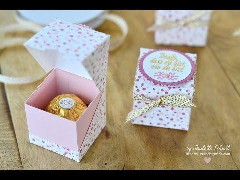 "Blogparade ""Team Stempelwiese"" -frühlingshafte Rocher-Verpackung - kreativ-verliebt"