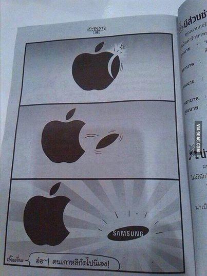 http://www.komik1sey.com/wp-content/uploads/2014/04/Samsung-mu-iPhone-mu.jpg adresinden görsel.