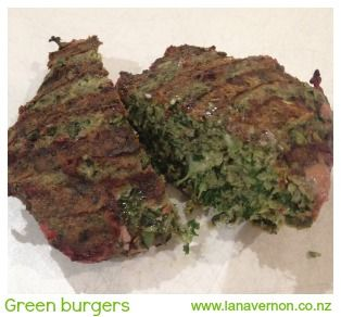 Green burgers!