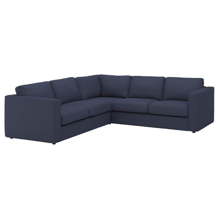 Mer enn 25 bra ideer om Blue corner sofas on Pinterest