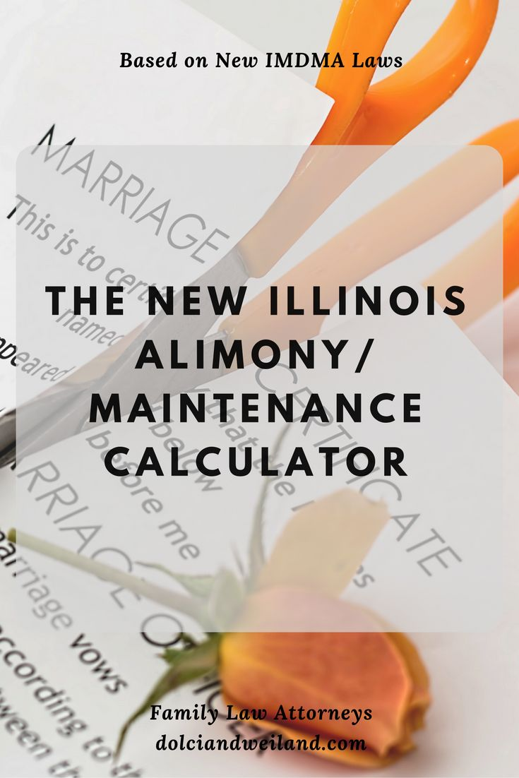 Alimony/Maintenance calculator based on the new IMDMA Laws
