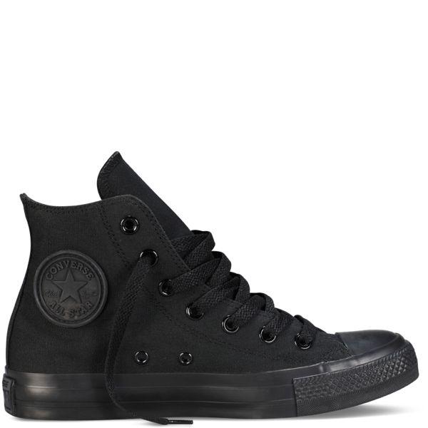 Converse Hi Black Monochrome Canvas All Star 13310 – Famous Rock Shop