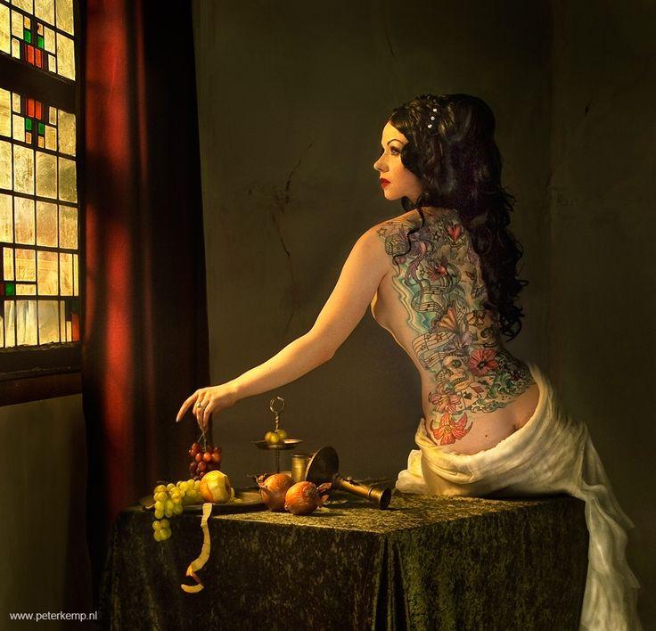 Peter Kemp | Serie -Vermeer | Fine Art Photography | Art Gallery AFK | www.arteafk.com
