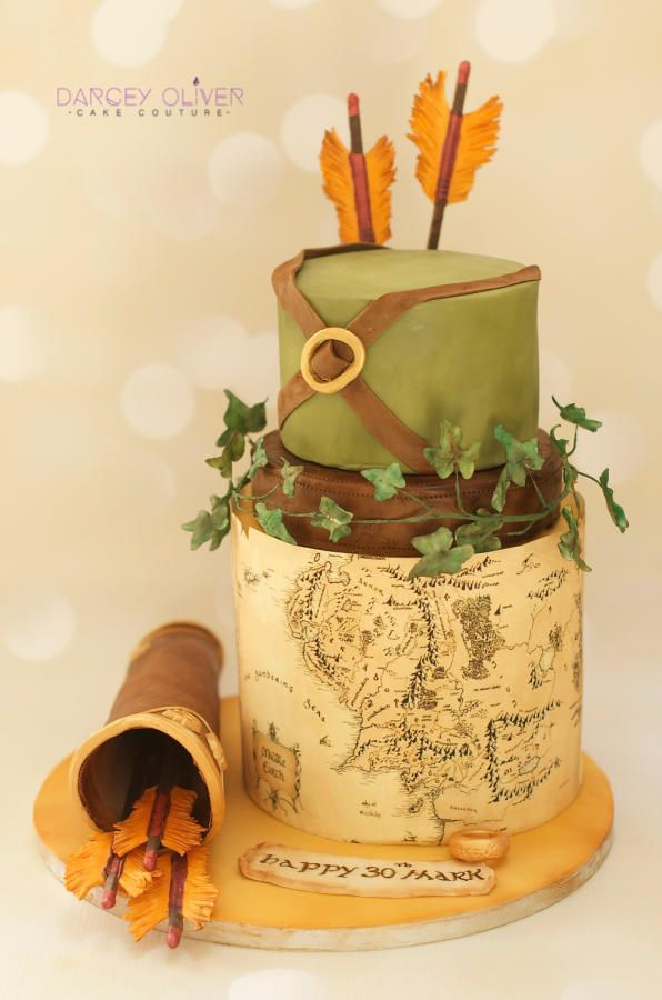 Lord of the Rings by Darcey Oliver Cake Couture