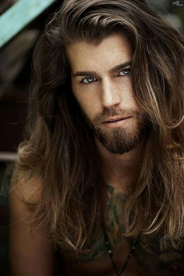 Cabelos Longos Long Hair Styles Men Long Hair Styles Hair And Beard Styles
