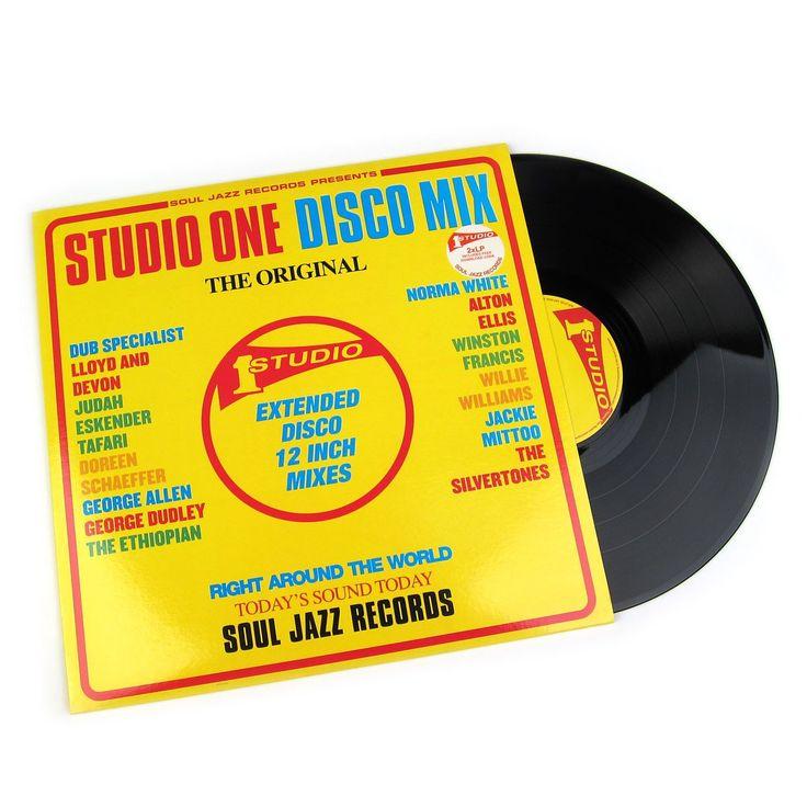 Soul Jazz Records: Studio One Disco Mix Vinyl 2LP – TurntableLab.com