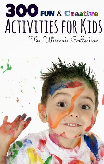 An AMAZING resource of activities for kids - Science, arts, sensory, early learning, recipes for play, and so much more! If you are a parent or work with kids you must check this out! {Over 300 Activities!!}