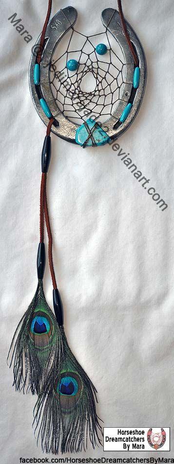 Horseshoe Dreamcatcher 59 by jedimarajade2.deviantart.com on @DeviantArt