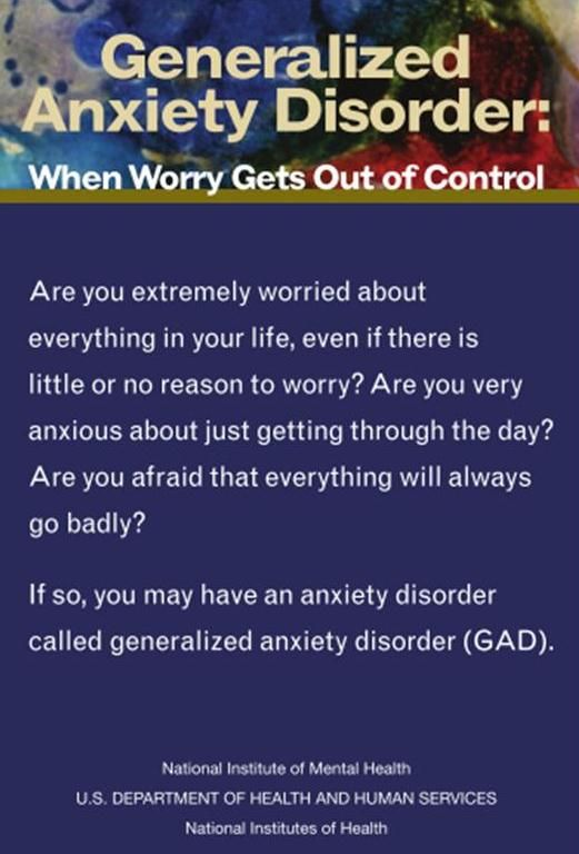 1000+ images about Generalized Anxiety Disorder(GAD) on ...