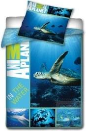 Animal Planet Dekbedovertrek Schildpad Een schitterend een persoons dekbedvertek van Animal Planet met een mooie onderwater wereld erop. Dit dekbedovertrek van Animal Planet heeft een dubbelzijdige print en kun je dus aan beide zijden te gebruiken. Op de voorzijde staat oa. een Schildpad en en € 34,95-