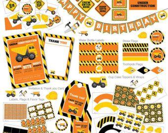 Construction Centerpieces Construction Tools by CreativeTouchhh