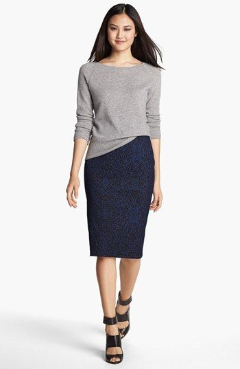 Halogen® Raglan Sleeve Cashmere Sweater (Regular & Petite) available at #Nordstrom BOUGHT!  TWICE!  I got this easy little sweater in gray and black.  It's perfect.