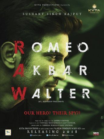 Romeo Akbar Walter – 2018: Movie Full Star Cast, Story, Release Date, Budget: Sushant Singh Rajput