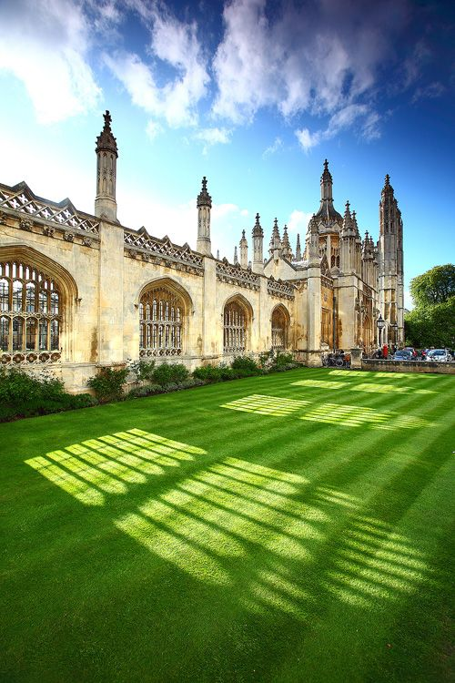 King's College - Cambridge University. Our tips for 25 fun things to do in England: http://www.europealacarte.co.uk/blog/2011/08/18/what-to-do-england/