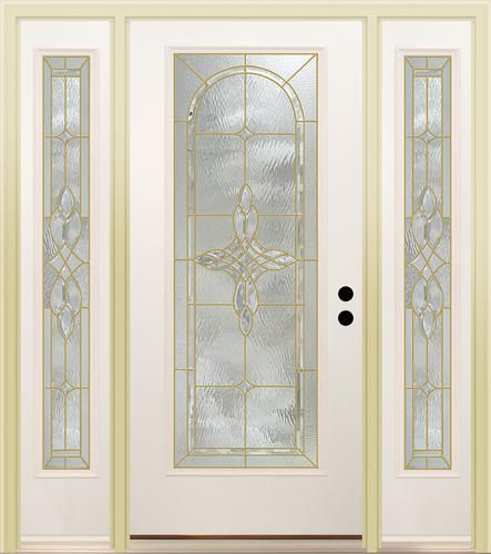 Mastercraft Rovana 36 X 80 Steel Full Lite Ext Door W 14