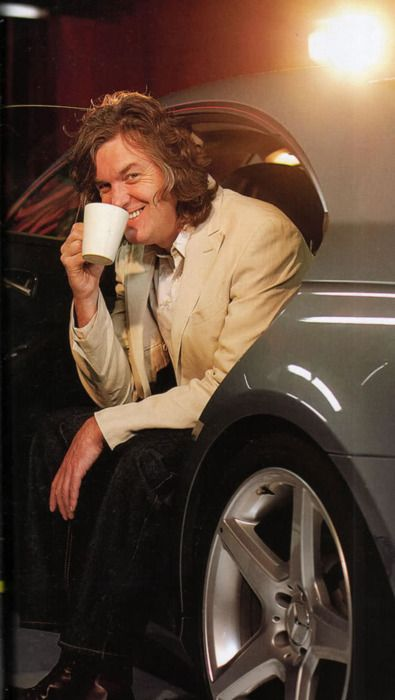 I'm a total creepster for James May, I don't even know.
