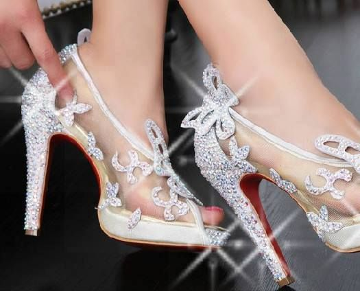 .I could never walk in these, but so pretty! I think I could and i agree