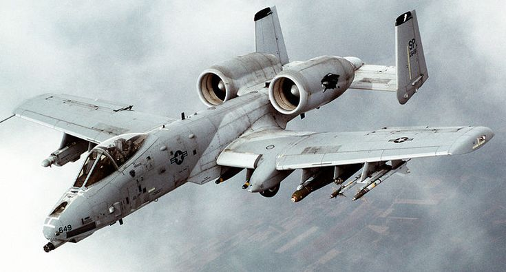 14 best Trains  planes and automobiles images on Pinterest     Fairchild Republic Thunderbolt II   American jet aircraft developed  designed solely for close air support  including attacking tanks  armored  vehicles