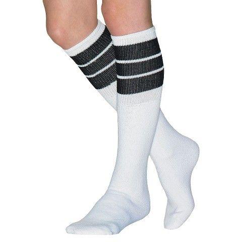 Wigwam Women's Classic King Tube Knee High Three Stripe Sock