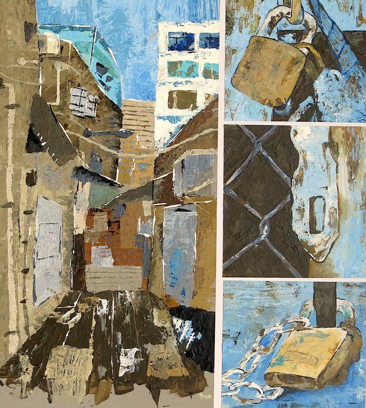 Year 11 IGCSE Final Examination piece by Harry de Witt, Hong Kong