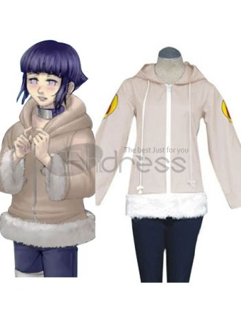 Do you want to put you favorite anime character into the real life. Absolutely, put on this costume, your loved Hyuga Hinata will be alive in the real world. This high quality and faithfully reproduction of this costume will give you a wonderful moment in your life! Don't you want take it home? Why not, let's go! It includes the upper half only.