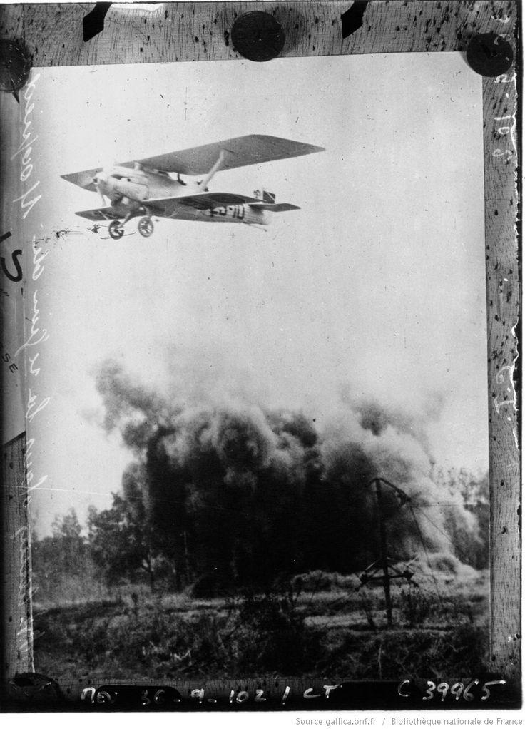 Spain - 1936. - GC - bombardement aérien dans la région de Maqueda