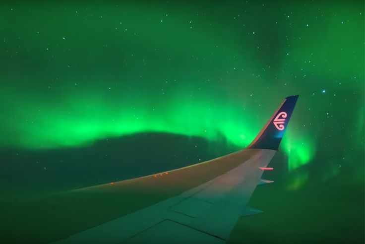 134 passengers got about a flight to the lights and experienced the southern lights in all its magical splendour.
