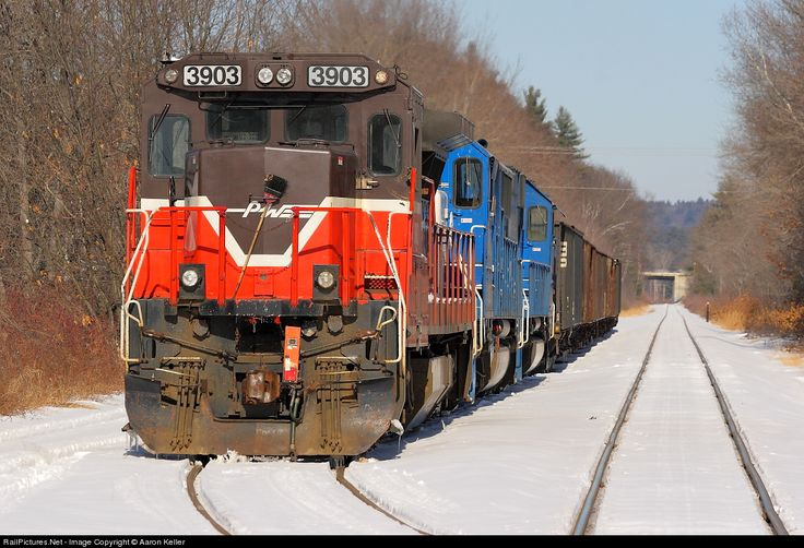 RailPictures.Net Photo: PW 3903 Providence and Worcester Railroad GE B39-8E (Dash 8-39BE) at Bow, New Hampshire by Aaron Keller
