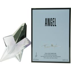 !классика мировой парфюмерии! восточные гурманские. Angel выпущен в 1992. Angel был создан Olivier Cresp и Yves de Chirin. Верхние ноты: дыня, кокос, мандарин, китайская кассия, жасмин, бергамот и сахарная вата; ноты сердца: мед, абрикос, ежевика, слива, орхидея, персик, жасмин, ландыш, красные ягоды и роза из Непала; ноты базы: бобы Тонка, амбра, Пачули, мускус, ваниль, Темный шоколад и карамель. Этот аромат был награжден FiFi Award Hall Of Fame 2007.