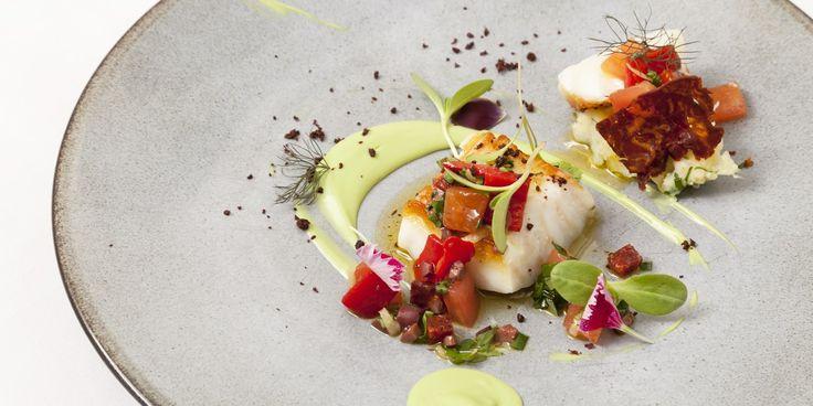 From chef Agnar Swerrisson - Icelandic Cod Recipe With Avocado & Chorizo - Great British Chefs