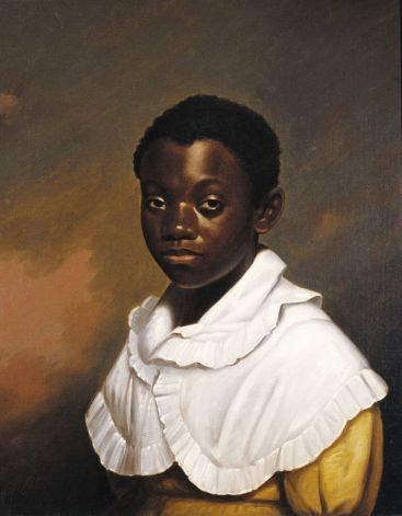 "Phillip Thomas Cole Tilyard    Black Child, c. 1820    from ""Through the Eyes of Others: African-Americans in American Art"""