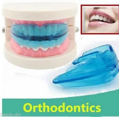 4PCS Blue Silicone Tooth Orthodontic Appliance Professional Braces Dental Care