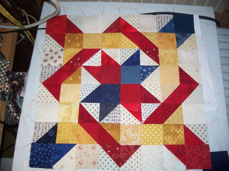 Starbound Pattern Made Ez Great Qov Quilt Blocks