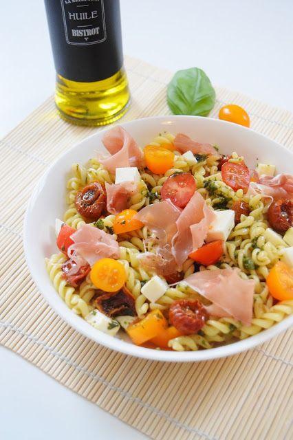 Homemade Maurylise: salade de pâtes à l'italienne