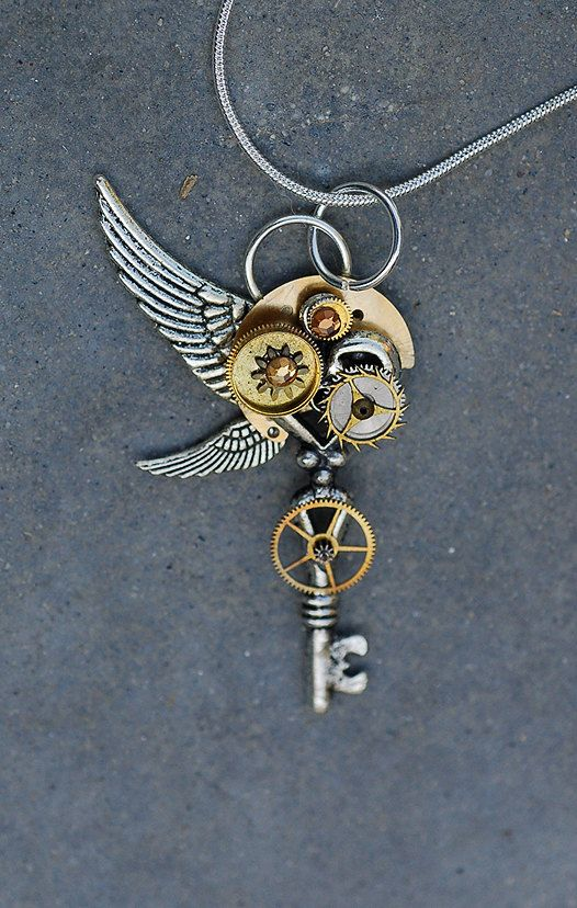 """""""Sun Key""""  steampunk: i seriously love this style"""